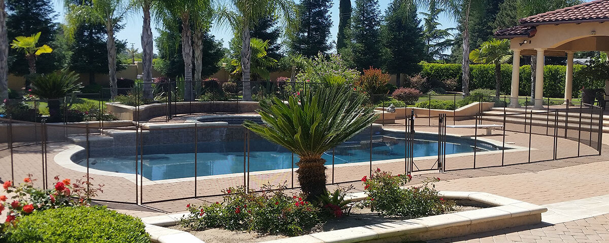 Merced Child Safe Swimming Pool Fencing