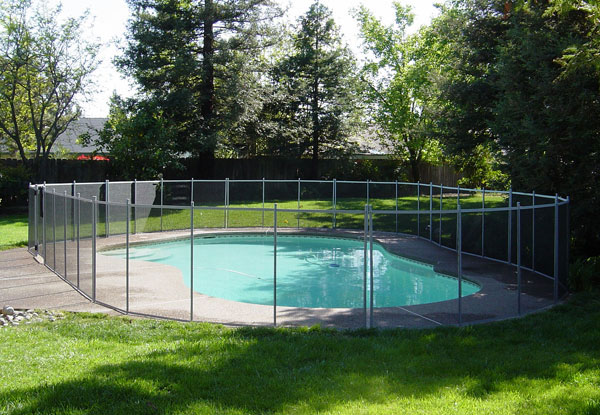 High Quality Removable Mesh Pool Fencing