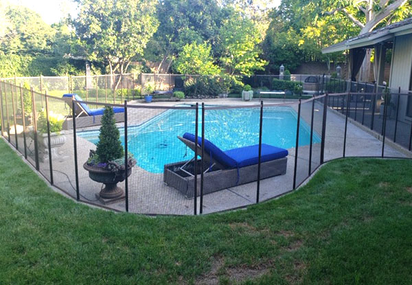 Removable Pool Fence, Fresno