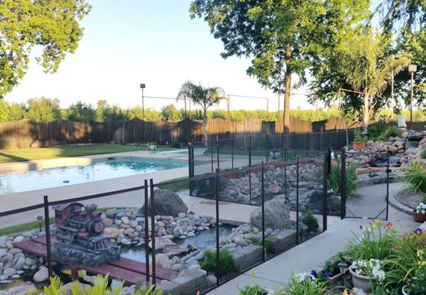 Fresno Home Removable Pool Fence