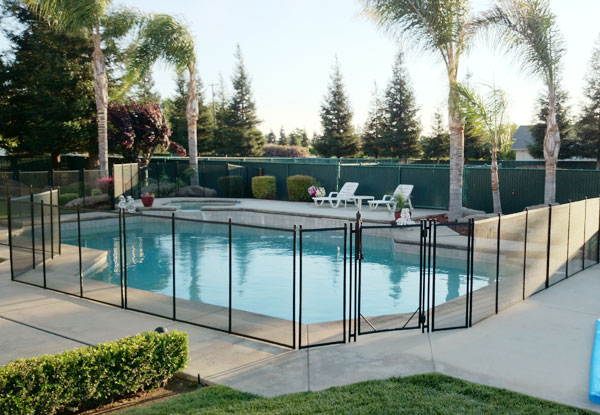 removable pool fence no drilling mesh phoenix