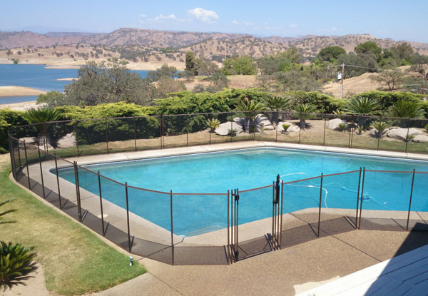 Modern Outdoor Pool Fence