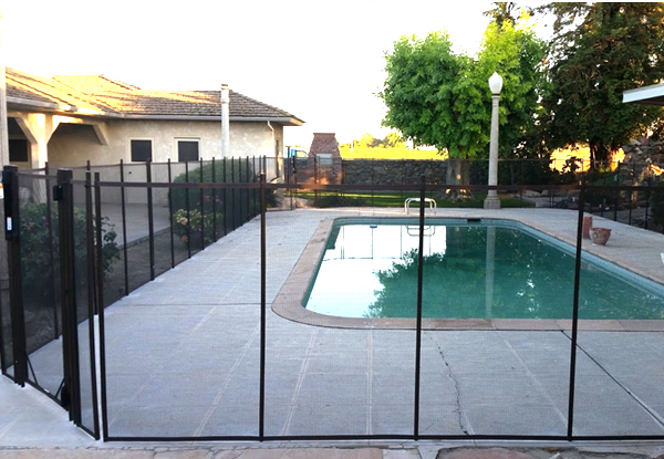 Custom Removable Pool Fence Fresno