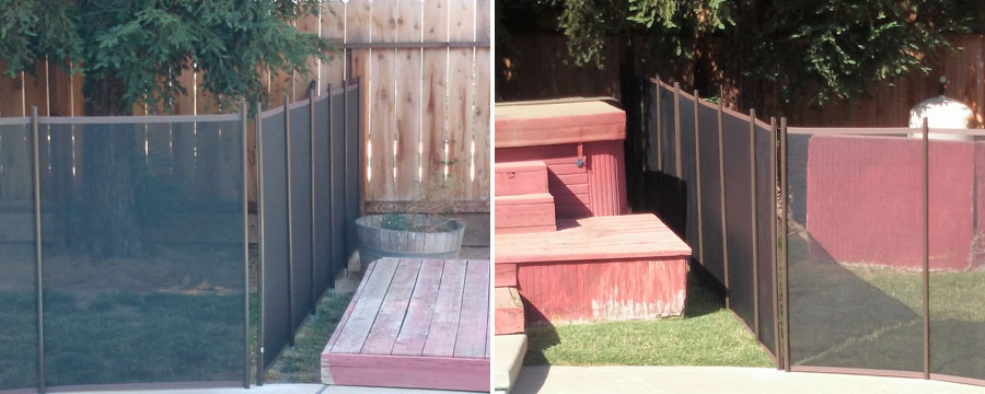 Removable Pet Fence Installation