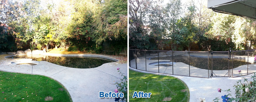 Before & After Fence Work