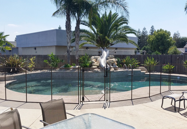 Exeter CA Removable Pool Fence