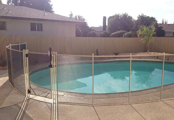 Fresno Removable Pool Fence