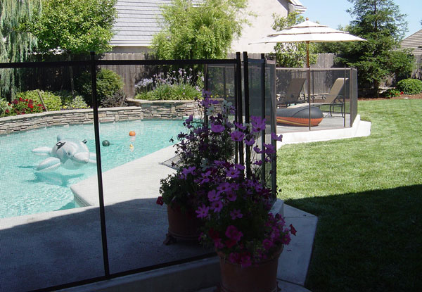 Non-Climbable Pool Security Fence