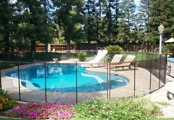 Outdoor Pool Fencing
