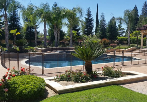 Central Valley Removable Pool Fence