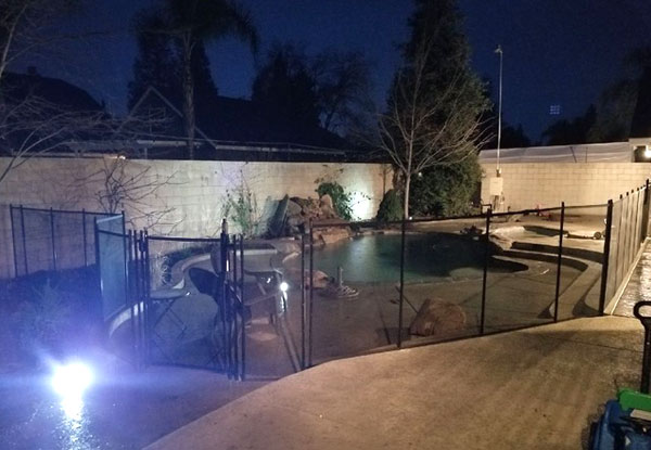 Removable Fence in Visalia, CA