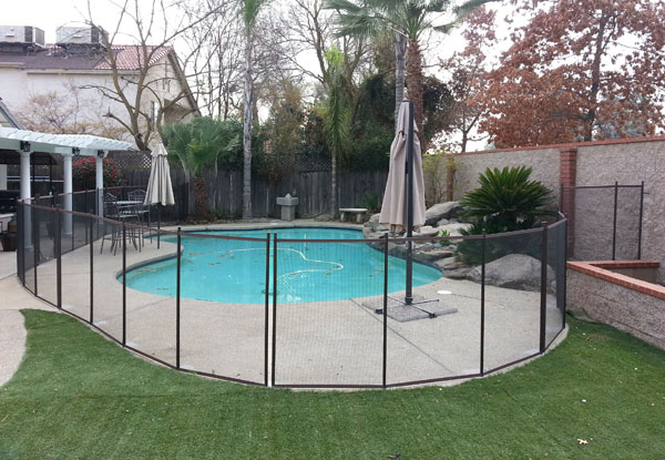 Removable Fence temporary/removable pool fences & gates in clovis - child safe