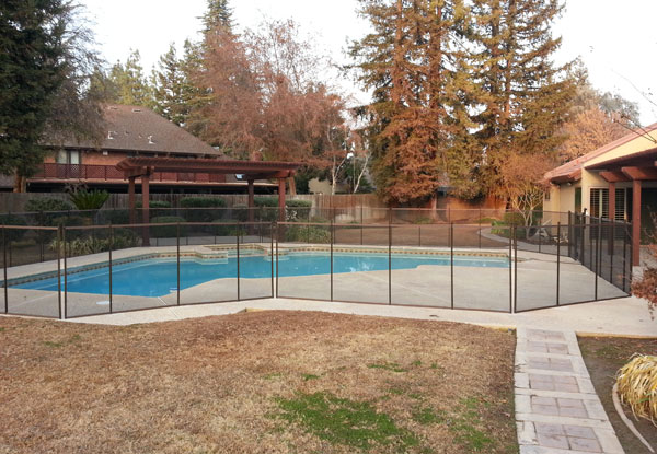 Fresno Pool Space in Open Yard