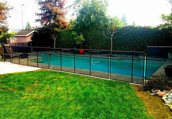 Pool Fence with Frames