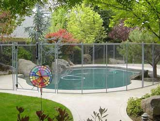 Removable Pool Fencing Contractor Child Safe Temporary Mesh